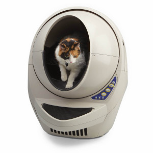 The Litter Robot III Open Air Automatic Cat Litter Box is a good option if you have large and/or overweight cats.