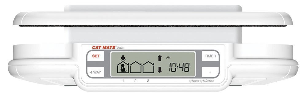 Cat Mate Elite Cat Door Review Setting the Automatic Timer